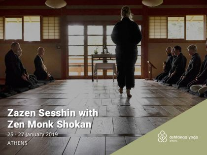 Zazen Sesshin with Zen Monk Shokan